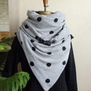 Vêtements écoresponsables | foulard hiver femme par Aniela Mieko